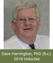 Dr. David P. Harrington-2019 Inductee