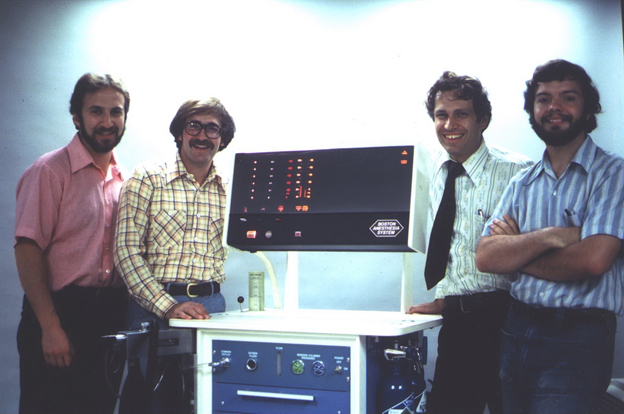 4 members of the Massachusetts General Hospital, Department of Anesthesia, Anesthesia Bioengineering Unit