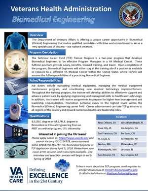 Job Opportunities: Veterans Health Administration